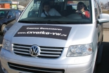 """Официальное представительства Volkswagen и официальные автодилеры Volkswagen в России: """"Авто Ганза"""", """"Авто-Престус"""" и """"Атлант-М"""" провели интерактивную поисковую игру «Схватка Фольксваген Коммерческие автомобили». В рамках игры было организовано проведение тест драйва."""